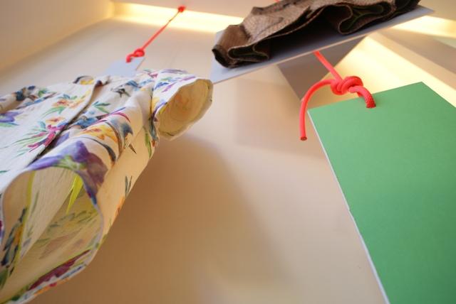 missoni estampado floral escaparate cuerda neón geometría mikonos logroño moda tienda ropa