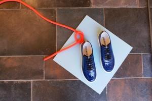 sneakers zapatillas deportivas azul geometría bikkembergs neón cuerda mikonos tienda moda logroño primavera verano 2015 nueva colección new collection