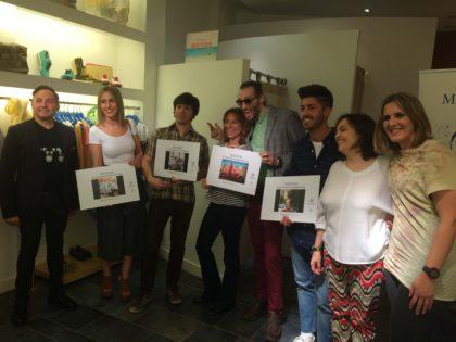 @charlystardust y @bellos23 ganan el Concurso de Instagram #voyenaudiamikonos