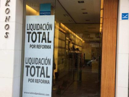 """""""Renovarse o morir"""": Liquidación por reforma."""