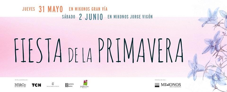 Fiesta primavera Mikonos moda Logroño